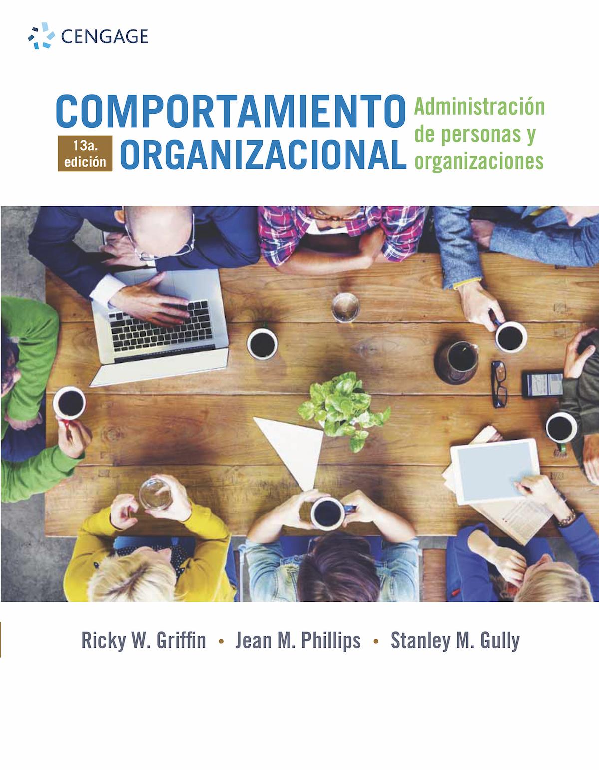 Comportamiento organizacional, portada
